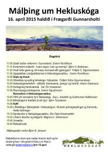 Hekluskógar málþing 2015c